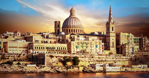 A masterful example of the Baroque, Valletta has been designated a World Heritage City