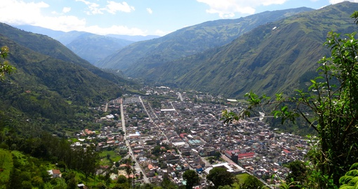 Explore Banos on your next Ecuador vacations.