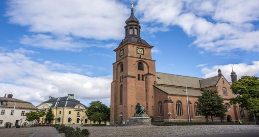 You will visit Falun during your trip in Sweden