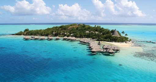 The perfect place for your Bora Bora Vacation is the Sofitel Bora Bora Beach Resort