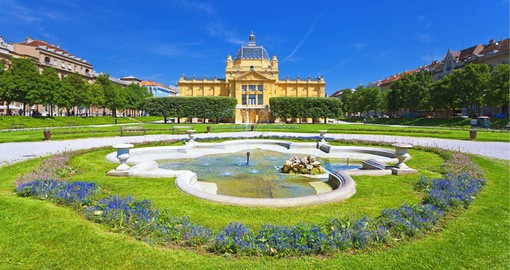Zagreb, Croatia's capital, has a dazzling array of art deco and neobaroque buildings