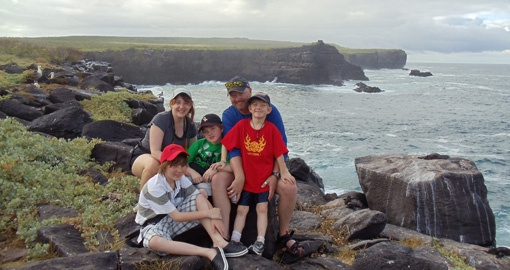 The Galapagos is the perfect family destination