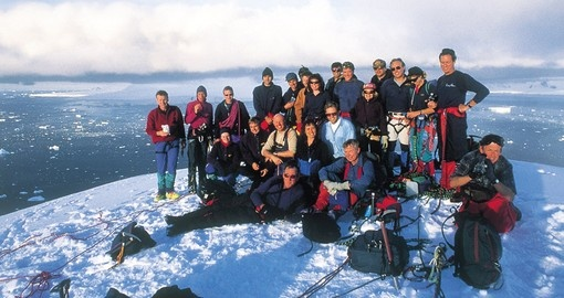 Group photo, Antarctica