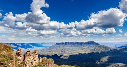 Enjoy a Breathtaking Tour of the Beautiful Blue Mountains on your Australia Vacation