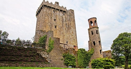 Blarney castle and the famous Blarney Stone