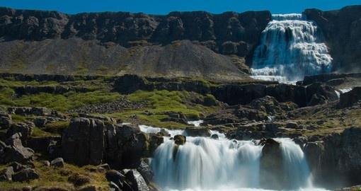 Discover Dynjandi Waterfall and enjoy it beautiful nature on your next Iceland tours.