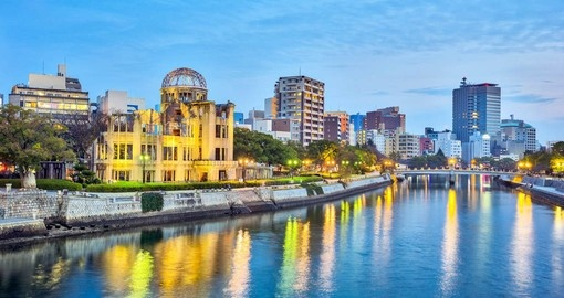 Experience the powerful Peace Memorial in Hiroshima on your Japanese Vacation