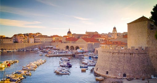 Explore the streets of old Dubrovnik on your Croatia Tour
