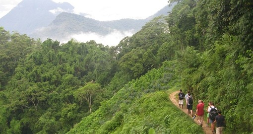 Trek on mountains on your Colombia Tour
