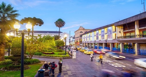 Visit the Plaza Grande during your next Ecuador tours.