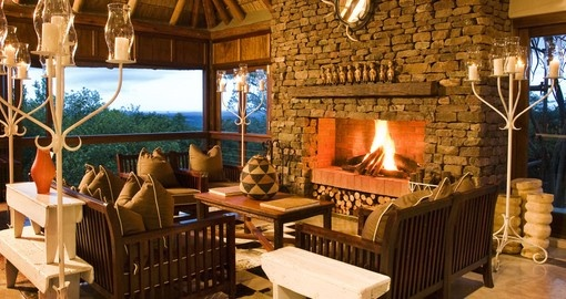 Explore this amazing lodge and enjoy all the amenities during your next trip to South Africa.
