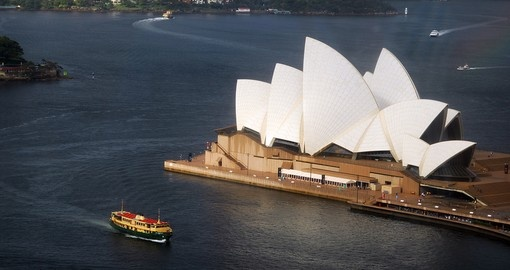 Cruise by the Sydney Opera House on your Australia vacation
