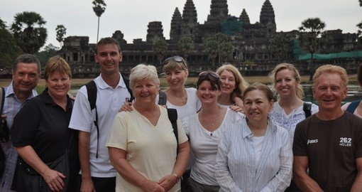 Make new friends on your Cambodia Tour