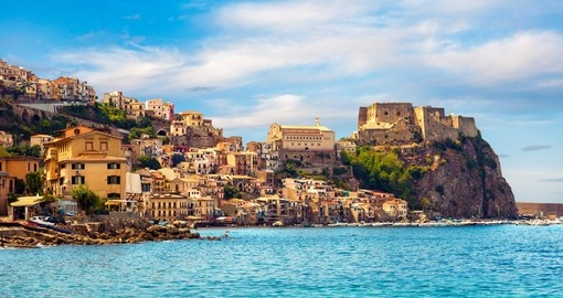 Explore Castle Scilla in Calabria during your next  trip to Italy
