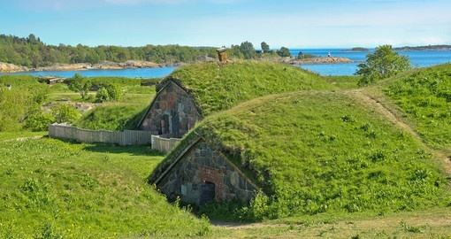 The Great Courtyard of Suomenlinna
