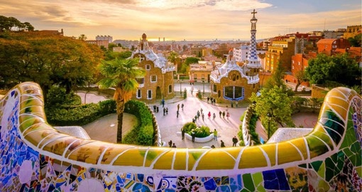 Antoni Gaudi's enchanting Park Guell is one of Barcelona's most beloved attractions