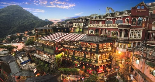 "Chiufen inspired the movie ""Spirited Away"""
