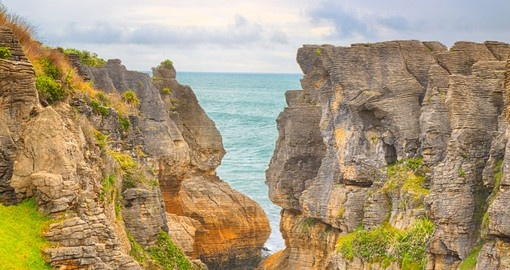 Punakaki Pancake Rocks in Paparoa National Park