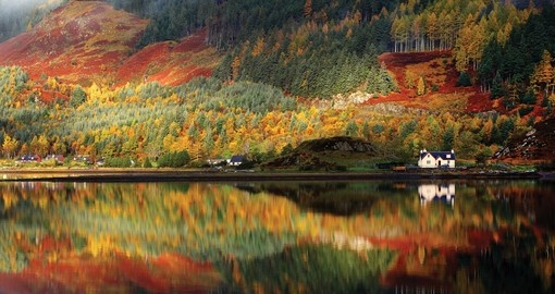 Autumn Colours in the Scotish Highlands