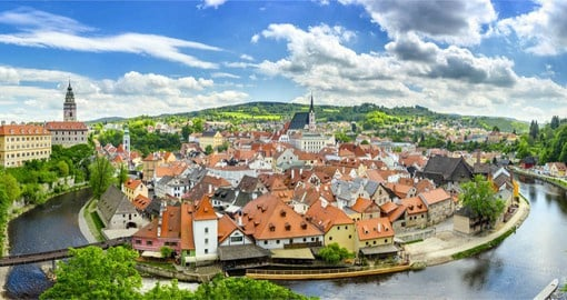 Visit Cesky Krumlov on your Europe Vacation