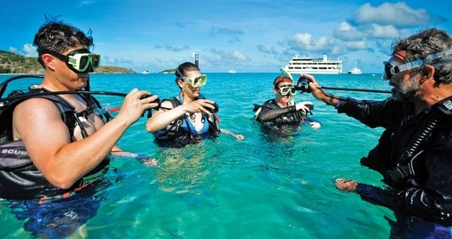 Experience Scuba diving and enjoy its beauty on your next Australia tours.