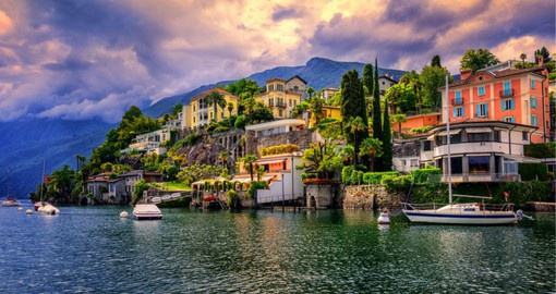Located on the south side of the Alps, Lake Maggiore was a favourite amongst romantic poets such as Byron and Shelley