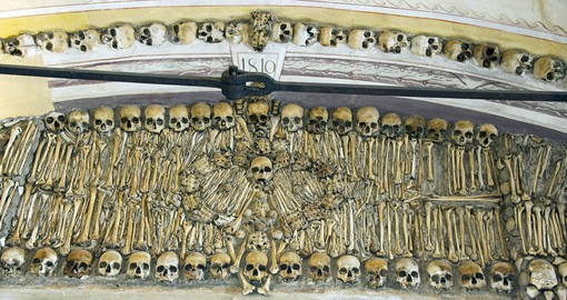 The Chapel of Bones is one Evora's best know attractions