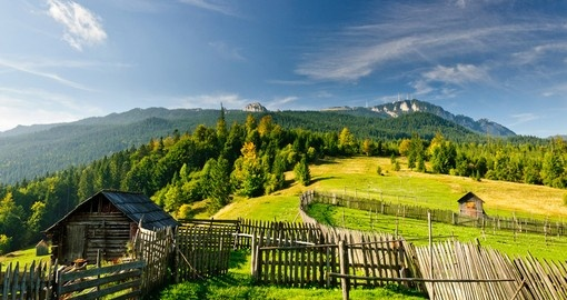All Romania vacations have the opportunity to enjoy beautiful landscapes along the way.