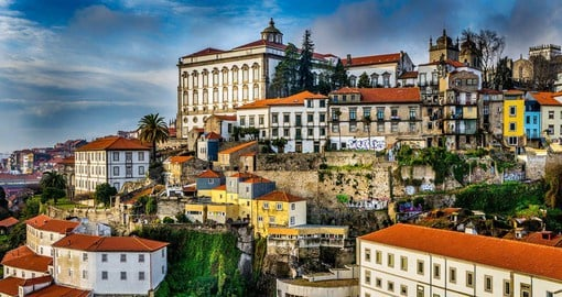 The historic centre of Porto and the River Douro are classified as a World Heritage site