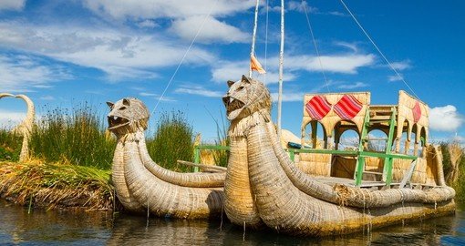 Visit Lake Titicaca on your journey to Peru