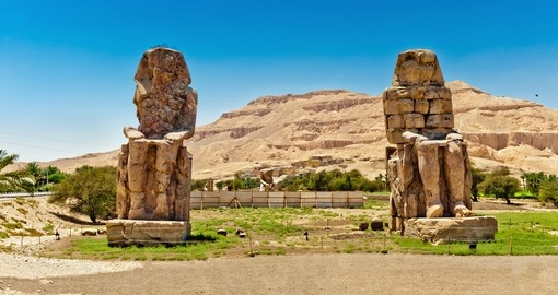 Colossi of Memnon, Valley of Kings, Luxor