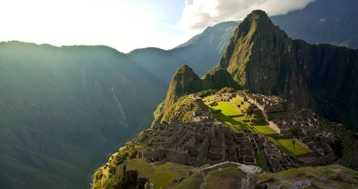 Visit famous Machu Picchu on your Peru Vacation