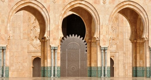 Details of Hassan II mosque