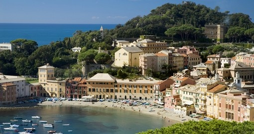 Visit the small town of Sestri Levanto Liguria Italy.