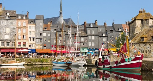 Take a Yacht to explore the coast from Honfleur on your France vacation
