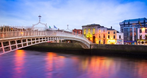 Enjoy walks in Dublin at Dusk on your next Ireland Trips.