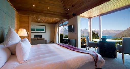 Enjoy all the amenities of the Azur Lodge can offer during your stay in New Zealand.
