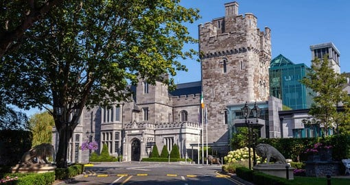 The current Clontarf castle dates back to 1837, but there have been castles on the site since 1172