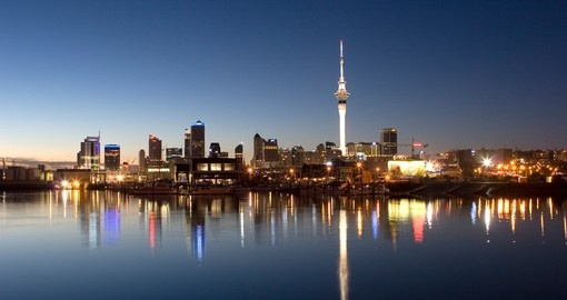 Visit Auckland during your trip to Australia & New Zealand, the country's largest city and one of the most vibrant.