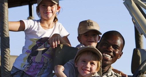 Your children will have a great a time on all of our Botswana safaris.
