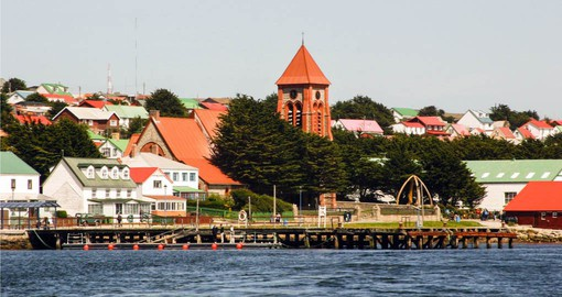 Conclude your Falkland Islands vacation with a stay in Stanley, the capital city