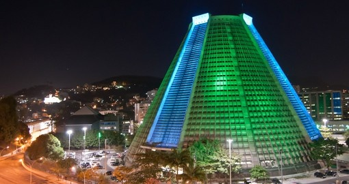 See the unique Metropolitan Cathedral of Rio de Janeiro on your Brazil Tour