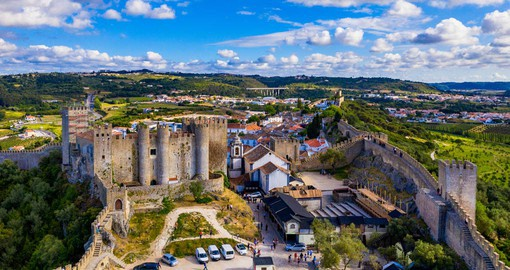 Obidos is an excellent example of a Portuguese walled city