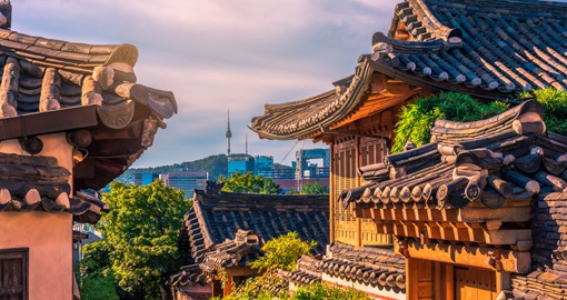 Bukchon Hanok Village outlook