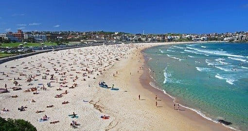 Experience beautiful Bondi Beach on your Australia Vacation