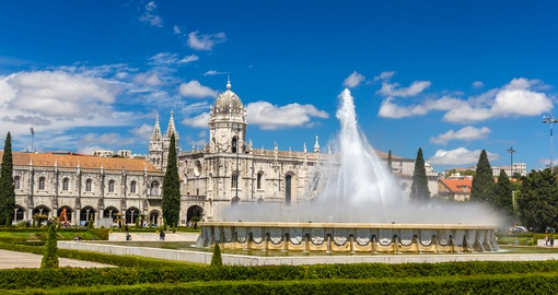 See historic sites such as Jeronimos Monastery on your Portugal Vacation