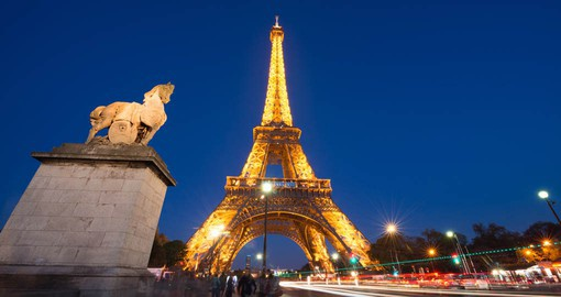 The symbol of France & Paris,  the Eiffel Tower was only meant to be temporary in the Parisian landscape