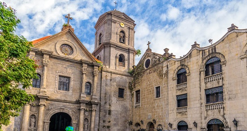 Wander around the San Agustin church grounds on one of your Philippine Tours