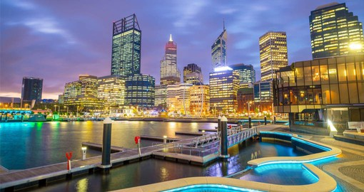 Your trip to Australia begins in Perth, a city centred on the great outdoors