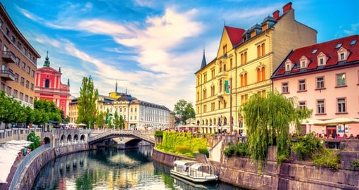 Ljubljana, the vibrant capital of Slovenia is the country's economic and cultural hub